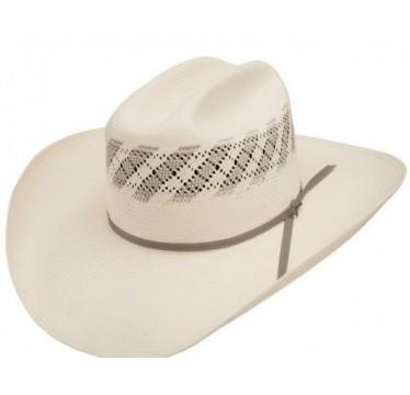 "Stetson Thunder 10 X Two-Tone 4 1/4"" Brim Straw Cowboy Hat"