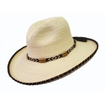 "SunBody Hats Amber Two Step Gus 4"" Brim Palm Cowboy Hat"
