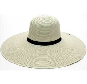 "SunBody Hats Palm Leaf Open Crown 6"" Brim Shape It Cowboy Hat"