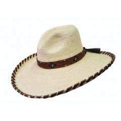 "SunBody Hats Moab Gus 5"" Brim Palm Cowboy Hat"