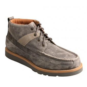 Twisted X Grey Wedge Sole Mens Casual Shoe