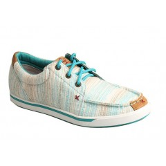Twisted X Blue/Multi Womens Hooey Lopers