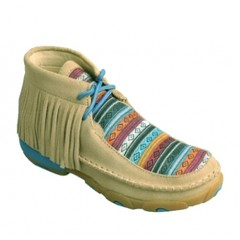 Twisted X Serape Fringe  Youth Casual Shoe