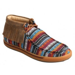 Ladies Twisted X Serape Fringe Casual Shoe