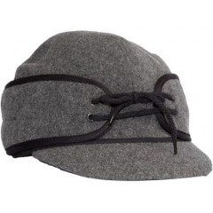 Wyoming Traders Charcoal Australian Wool Cap