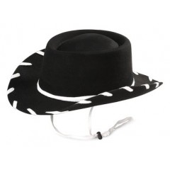 Woody Hat Black Youth Cowboy Hat
