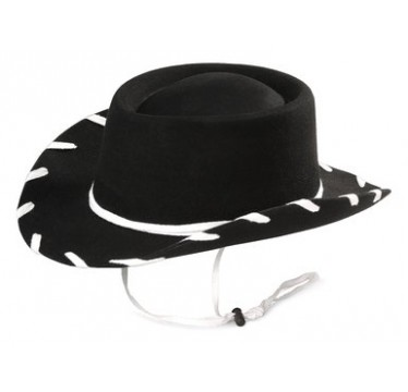 Woody Cowboy Hat Black Youth Cowboy Hat!