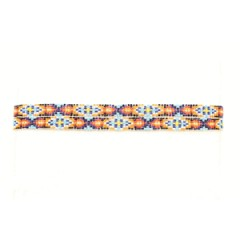 M&F Double S Multi-Color Beaded Stretch Hat Band