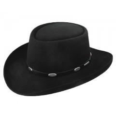 Stetson Royal Flush 4X Black Felt Cowboy Hat