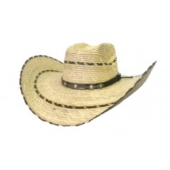 Alamo Old West Kids Brick Crown 4.5 Brim Cowboy Hat