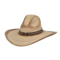 Alamo Chinook Gus Crown Burnished  Palm 5 Inch Brim Cowboy Hat