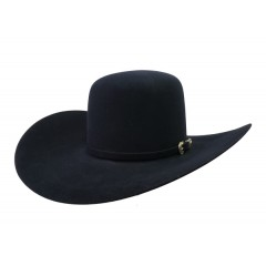 American Hat Company 10X Midnight Blue Open Crown  4.5 Brim Felt Cowboy Hat
