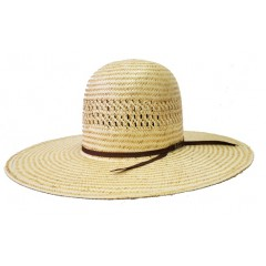 "American Hat Company Two-Tone Poli Rope Open Crown 4 1/2"" Brim Cowboy Hat"