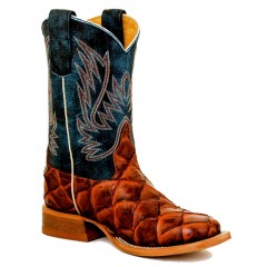 Anderson Bean Kids Christmas Collection Cognac Filet Fo Fish Boot