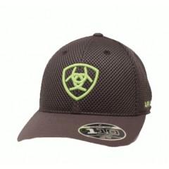 Ariat Grey Mesh Snapback Cowboy Hat