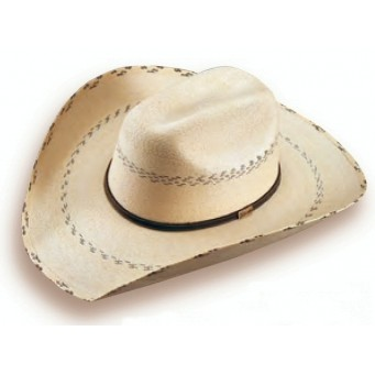 """Atwood Hat Company Hereford 7X Low Crown Pinto 4"""" Brim Palm Shape It With The Kenny Chesney Crease"""