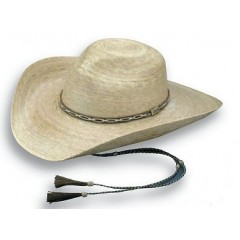 "Atwood Hat Company Caroline Too Brown 4"" Brim Palm Leaf Hat"