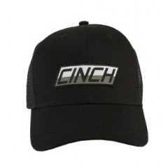 Cinch Black Snap Back Cowboy Cap