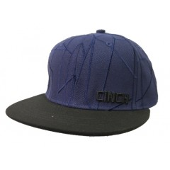 Cinch Youth Abstract Navy Snap Back Cowboy Cap