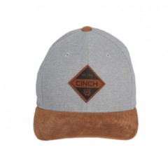 Cinch Grey and Tan FlexFit Cowboy Cap