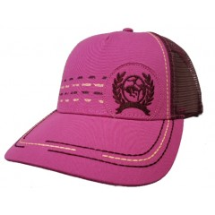 Cinch Ladies Fuchsia and Burgundy Cap