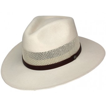Dallas Hats Golfer3 Canvas Fedora Straw Hat