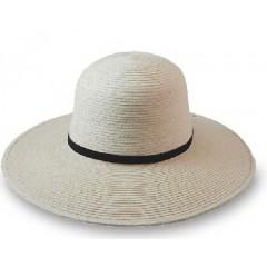 "SunBody Hats Palm Leaf Open Crown 4"" Brim Cowboy Hat"