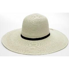 """SunBody Hats Palm Leaf Open Crown 4.5"""" Brim Shape It Cowboy Hat"""