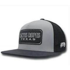 HOOey Cactus Ropes Grey And Black Cowboy Cap