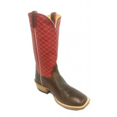 Honcho Boots Chocolate Horsebutt Mens Cowboy Boots