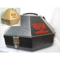 """Hat Carrying Cases Accomodates Up To 4"""" or 5""""  Brim Black"""