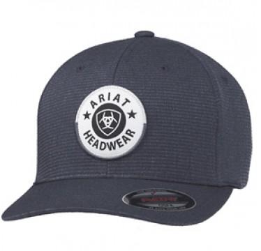Ariat Black Flexfit Cowboy Cap