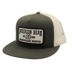 Red Dirt Hat Co. Anderson Bean Charcoal / White Snapback Cowboy Cap