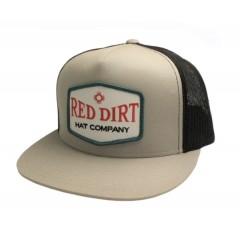 Red Dirt Hat Co. Punchy Silver/Grey Snapback Cowboy Cap