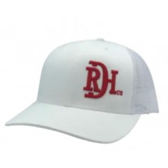 Red Dirt Hat Co. RDHC Brand  Red / White Snapback Cowboy Cap