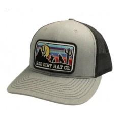 Red Dirt Hat Co. Coyote Heather Grey / Black Snapback Cowboy Cap