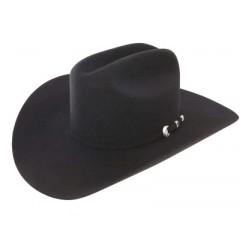 "Resistol 6X Midnight Black  4 1/4"" Brim Felt Cowboy Hat"