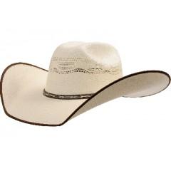 "Atwood™ Hat Company Stephenville Bangora Chocolate Bound Edge 4.5"" Brim Straw Hat"