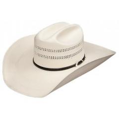 "Stetson South Point 10X 4 1/2"" Brim Straw Cowboy Hat"
