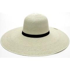 """SunBody Hats Palm Leaf Open Crown 6"""" Brim Shape It Cowboy Hat"""