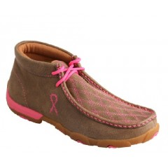 Twisted X Tough Enough To Wear Pink Driving Moc