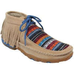 Ladies Twisted X Tan Fringe Serape Casual Shoe
